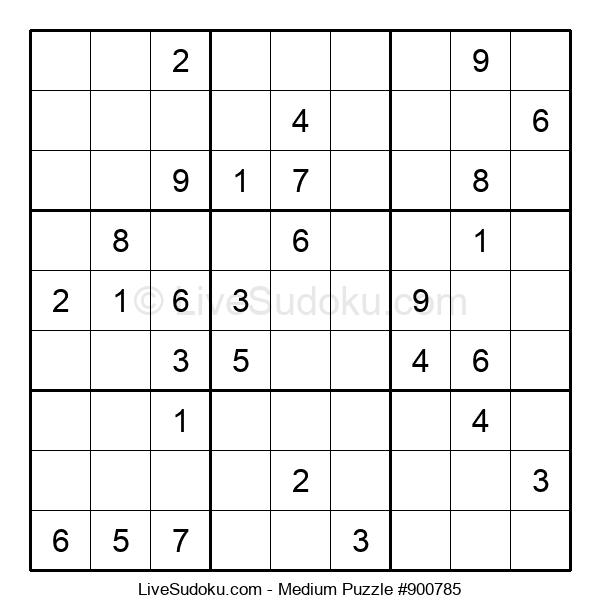 Medium Puzzle #900785