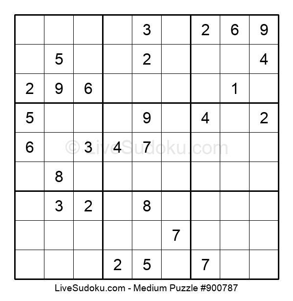 Medium Puzzle #900787