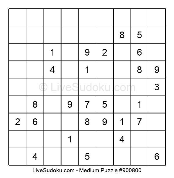 Medium Puzzle #900800