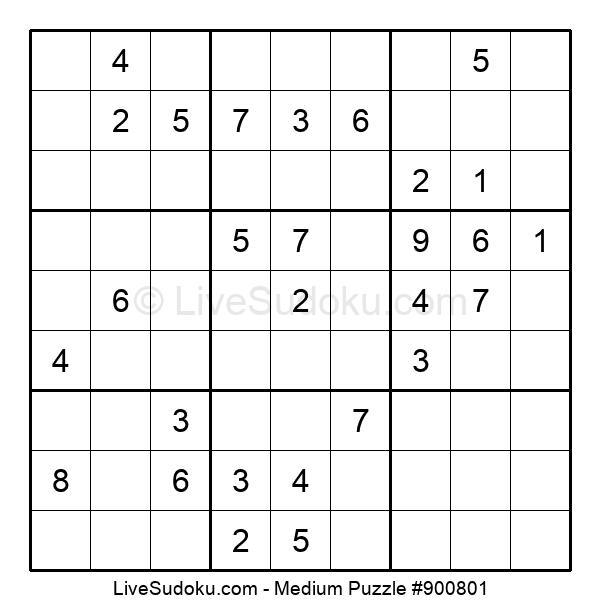 Medium Puzzle #900801