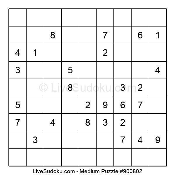 Medium Puzzle #900802