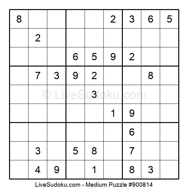 Medium Puzzle #900814