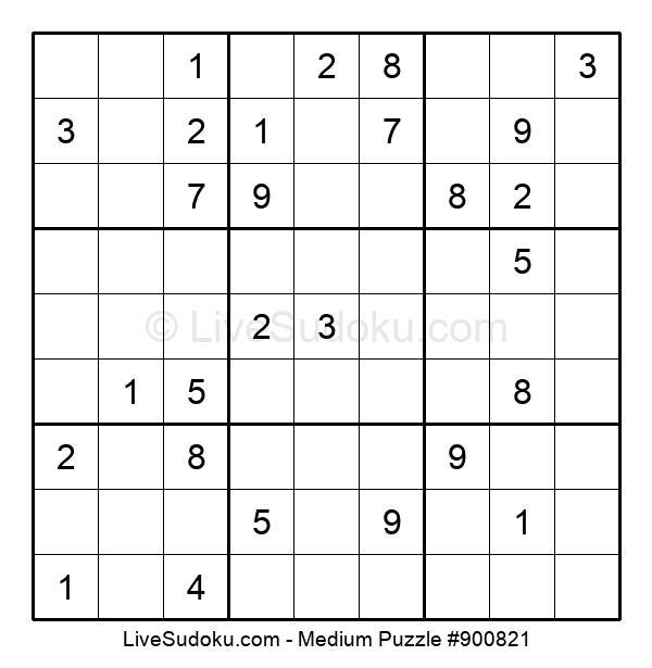 Medium Puzzle #900821