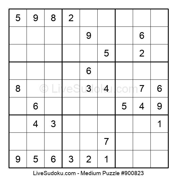 Medium Puzzle #900823