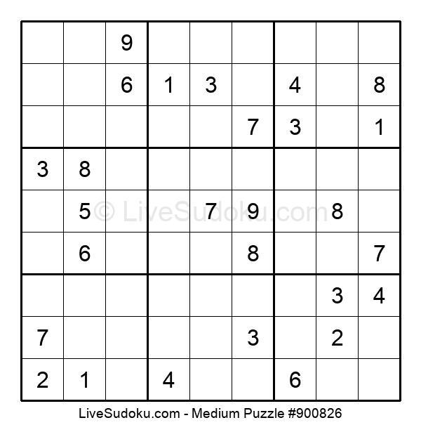 Medium Puzzle #900826