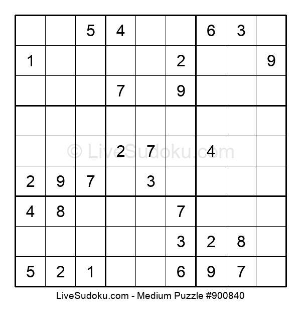 Medium Puzzle #900840