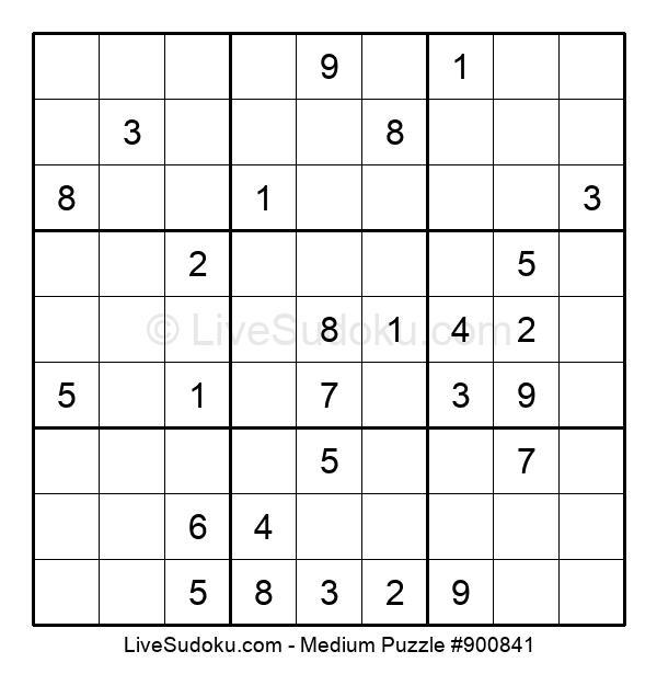 Medium Puzzle #900841