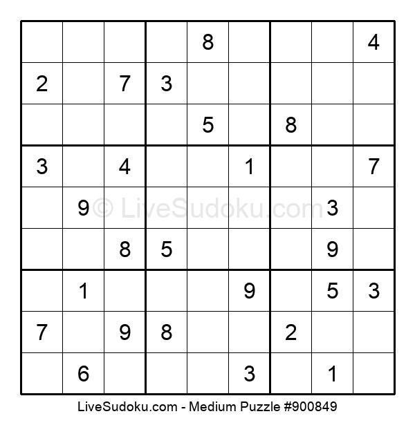 Medium Puzzle #900849