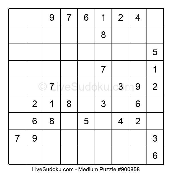 Medium Puzzle #900858