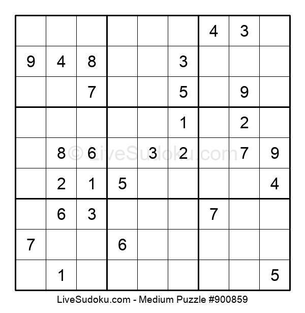 Medium Puzzle #900859