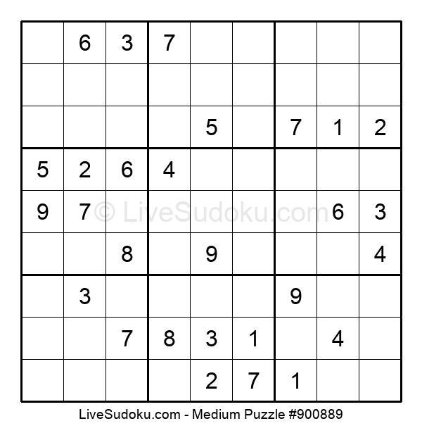Medium Puzzle #900889