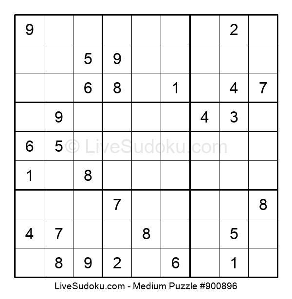 Medium Puzzle #900896