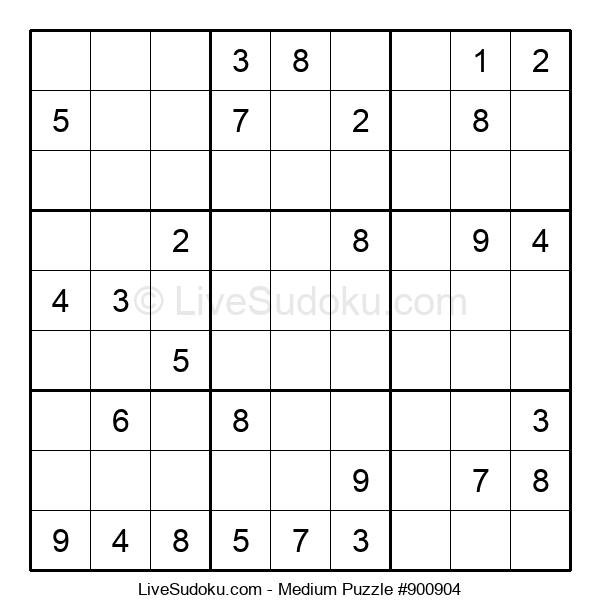 Medium Puzzle #900904