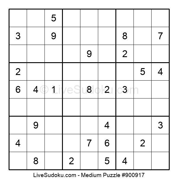 Medium Puzzle #900917