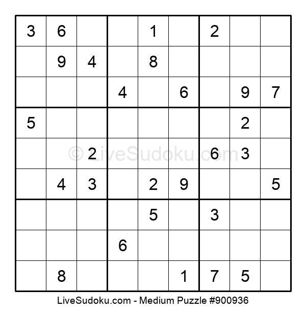 Medium Puzzle #900936