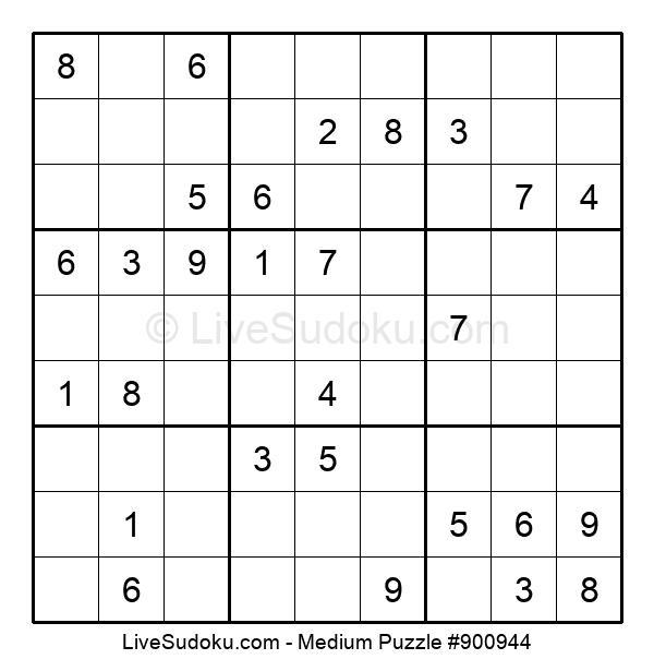 Medium Puzzle #900944