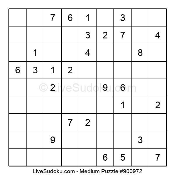 Medium Puzzle #900972