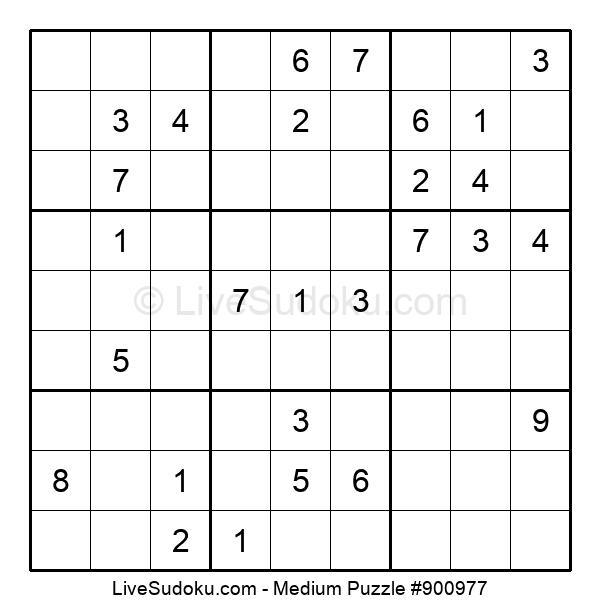 Medium Puzzle #900977