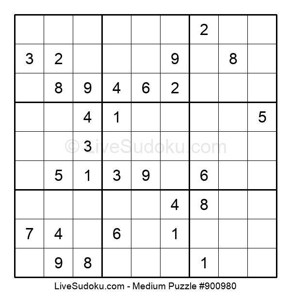Medium Puzzle #900980
