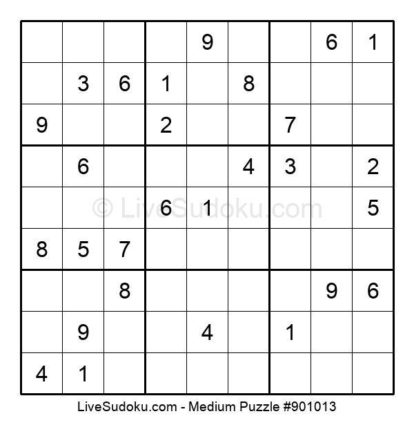 Medium Puzzle #901013