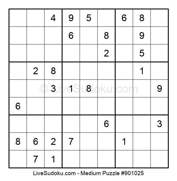 Medium Puzzle #901025