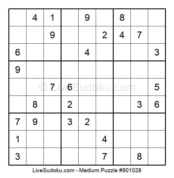 Medium Puzzle #901028