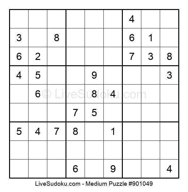 Medium Puzzle #901049
