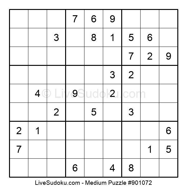 Medium Puzzle #901072