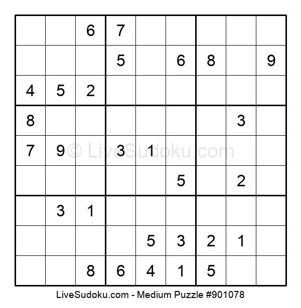 Medium Puzzle #901078