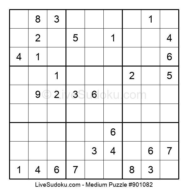 Medium Puzzle #901082