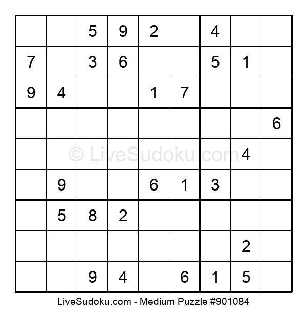 Medium Puzzle #901084