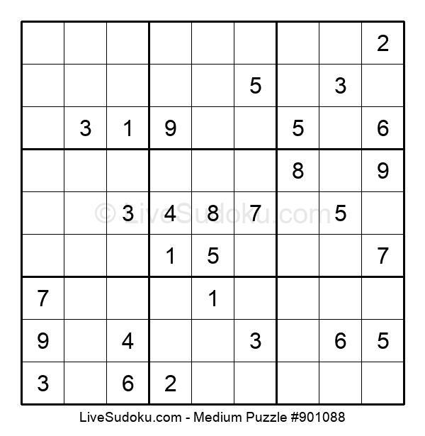 Medium Puzzle #901088