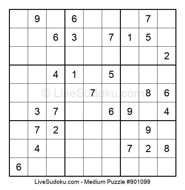 Medium Puzzle #901099