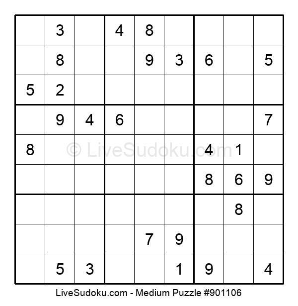 Medium Puzzle #901106