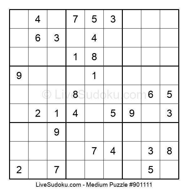 Medium Puzzle #901111
