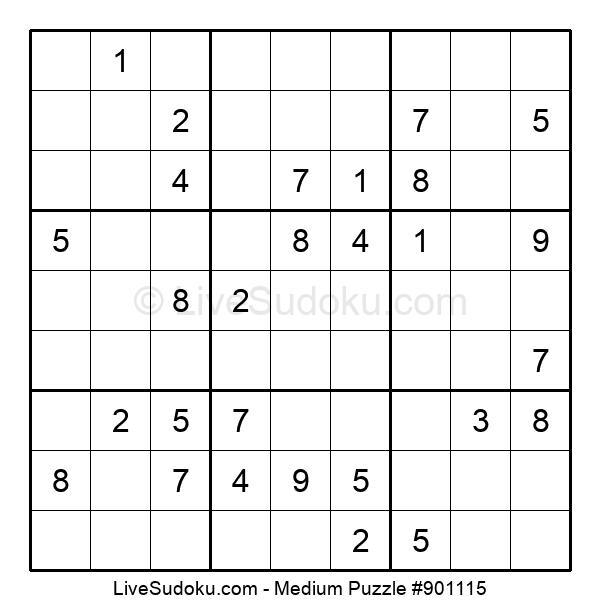 Medium Puzzle #901115