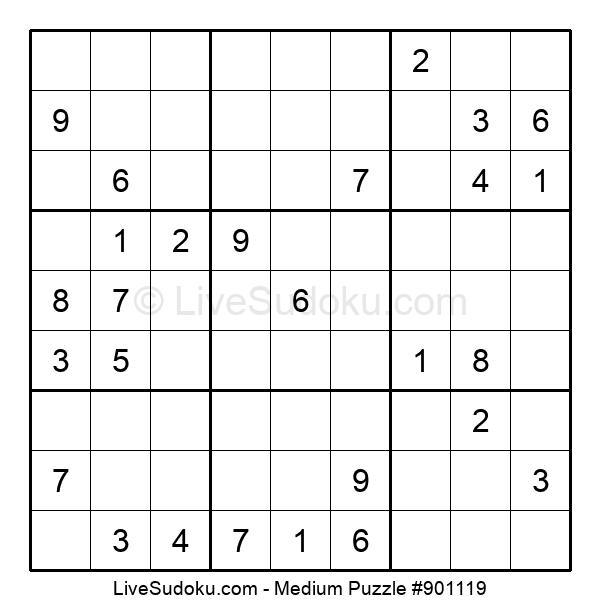 Medium Puzzle #901119