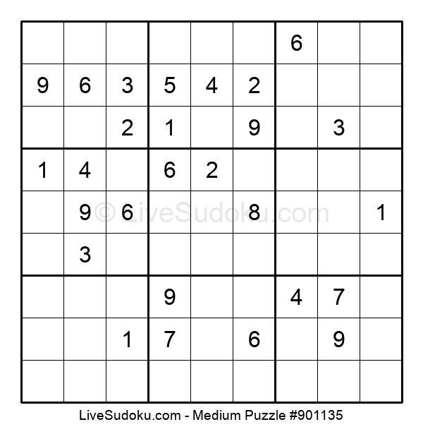 Medium Puzzle #901135