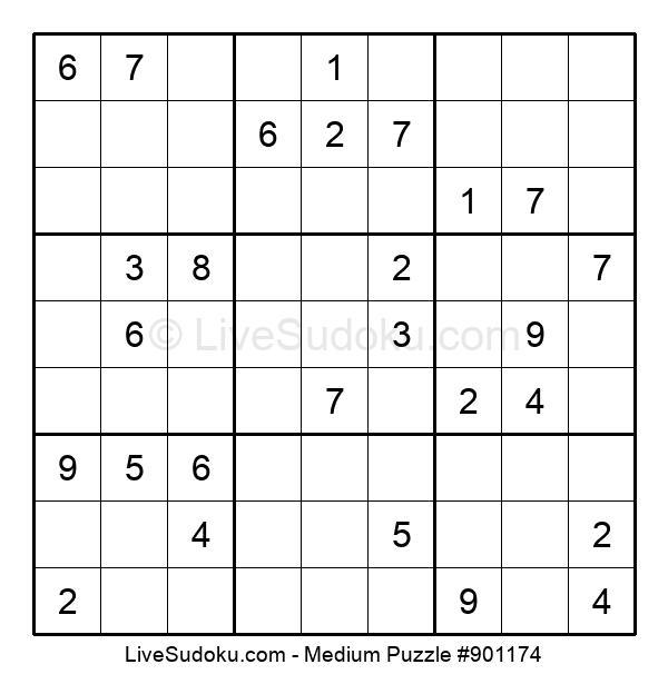 Medium Puzzle #901174