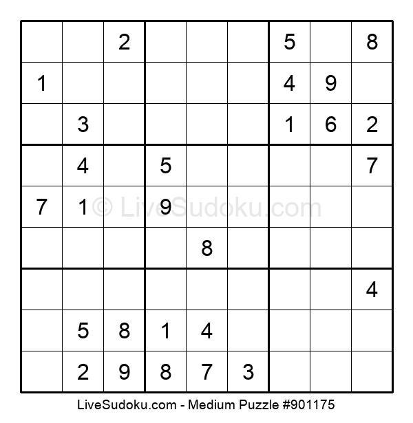 Medium Puzzle #901175
