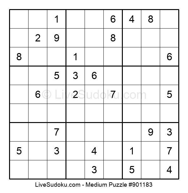 Medium Puzzle #901183