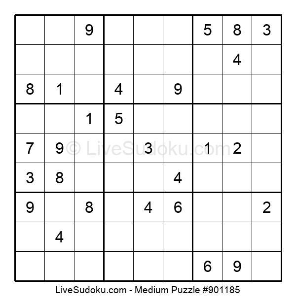 Medium Puzzle #901185