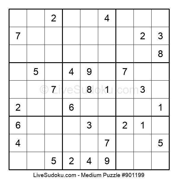 Medium Puzzle #901199