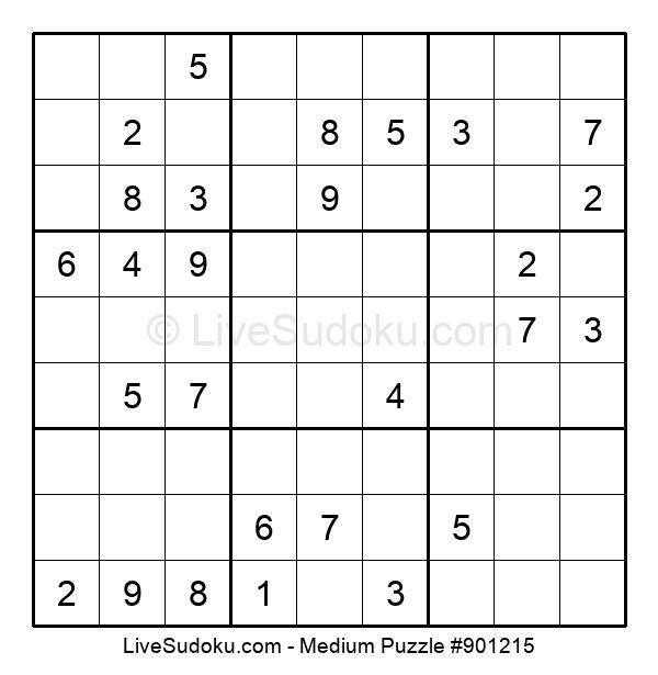 Medium Puzzle #901215