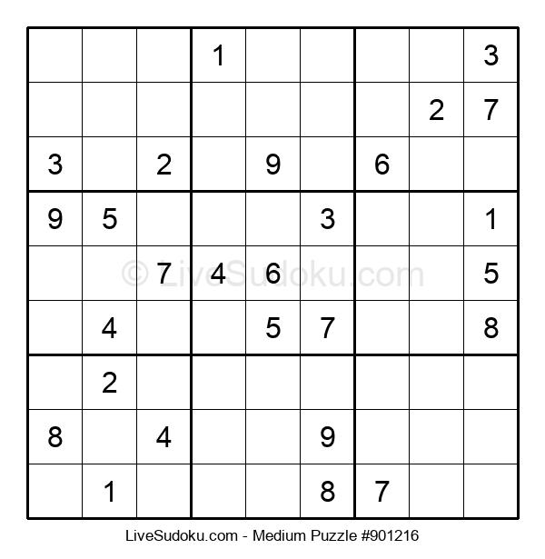 Medium Puzzle #901216