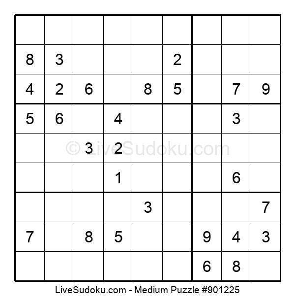 Medium Puzzle #901225