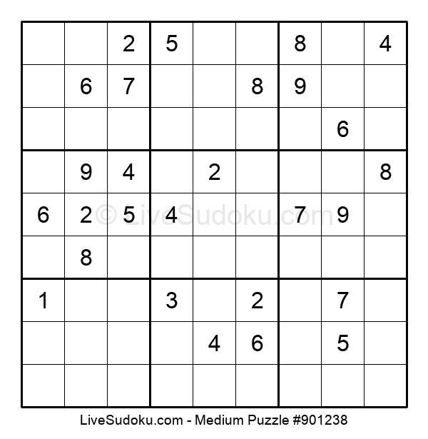 Medium Puzzle #901238