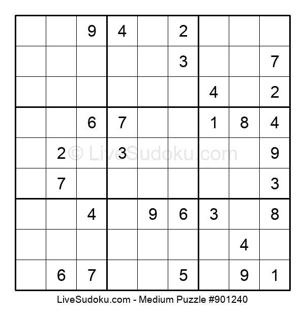 Medium Puzzle #901240