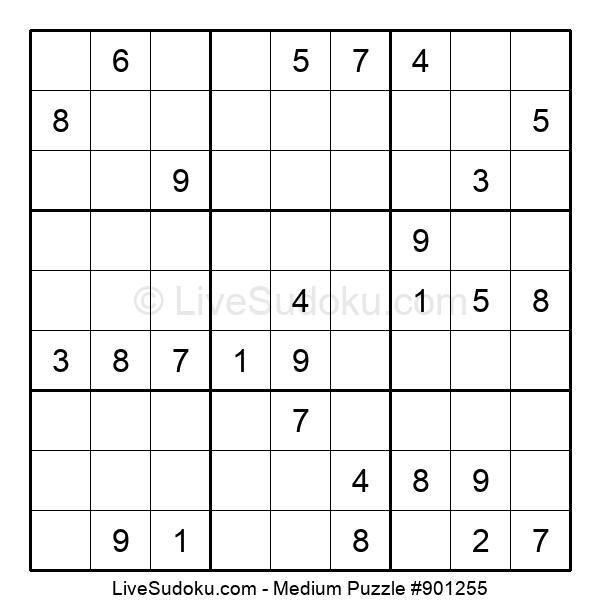 Medium Puzzle #901255