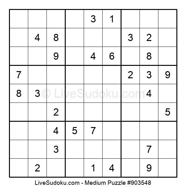Medium Puzzle #903548